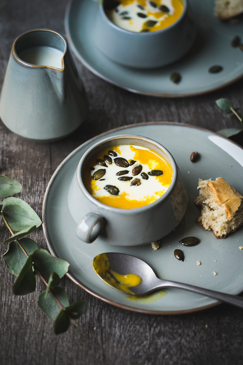 Wärmende Kürbis-Süßkartoffel-Suppe | Liz & Friends