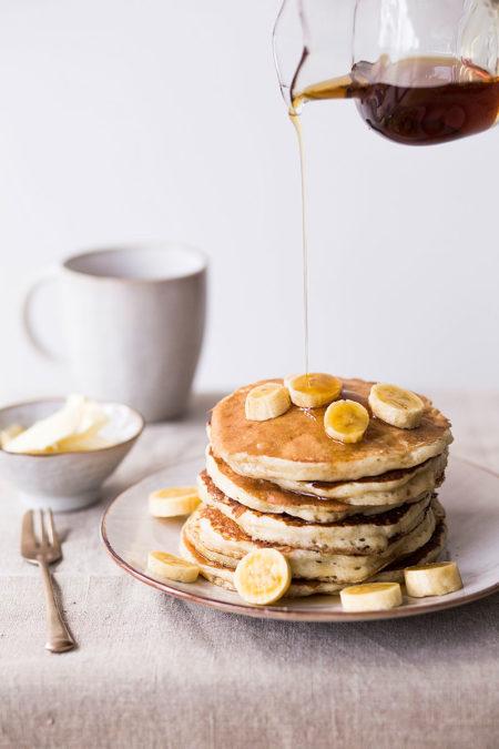 Banana Pancakes Lisa Nieschlag Food Fotografie