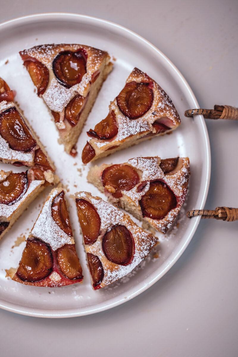 Zwetschgenkuchen mit Rührteig Lisa Nieschlag Liz&Friends